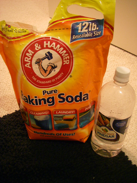 Baking Soda and Vinegar!